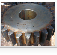 Casting, Machining and Turning of Industrial Equipments.